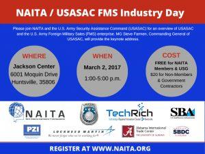 NAITA / USASAC FMS Industry Day @ Jackson Center