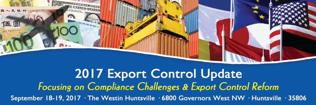NAITA Export Control Update @ The Westin Huntsville
