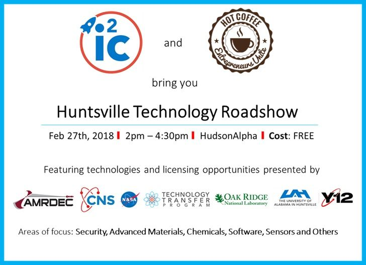 Huntsville Technology Roadshow @ HudsonAlpha Institute for Biotechnology