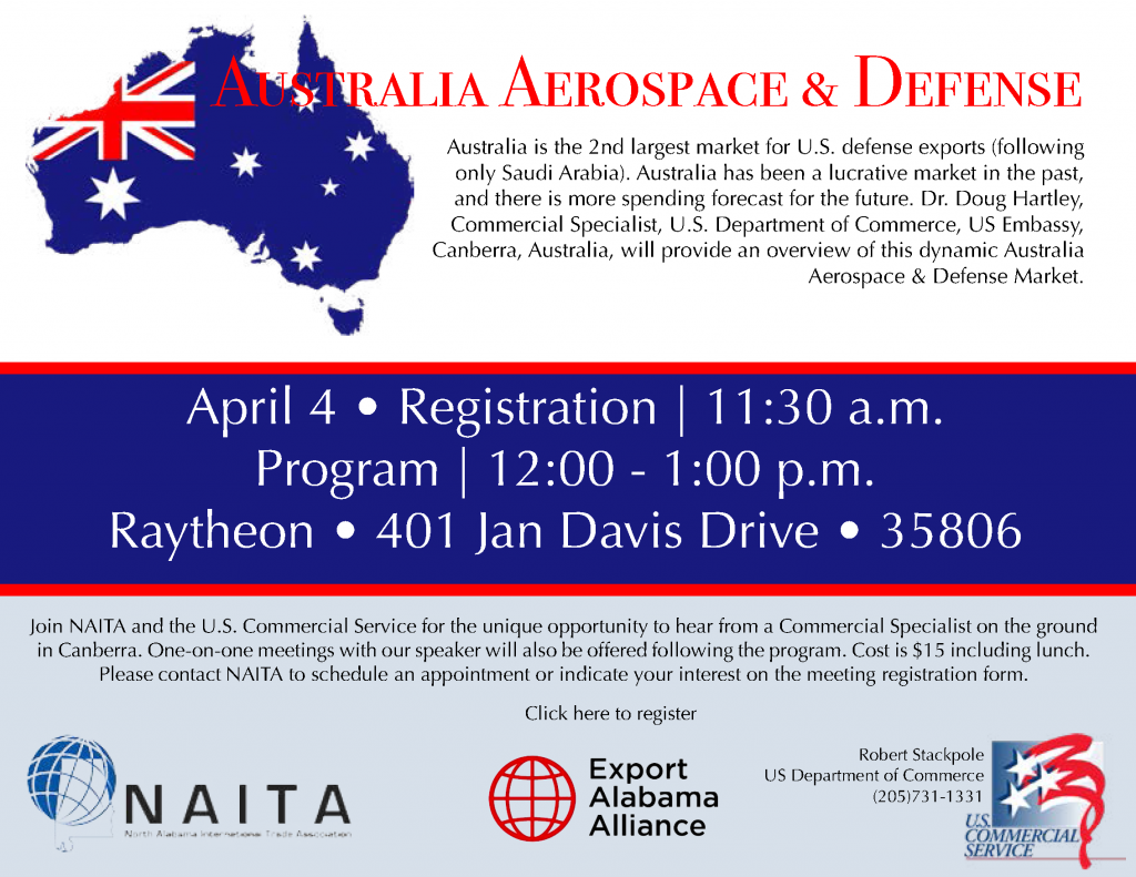 Australia Aerospace & Defense 040418