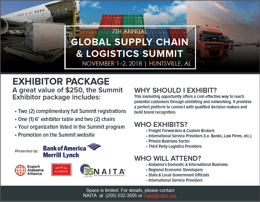 2018 GSCS Exhibitor Package