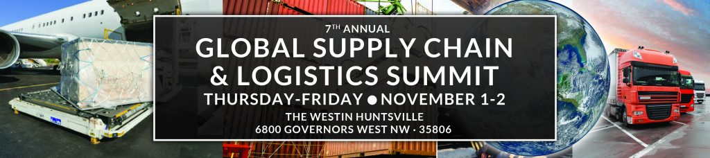 Global Supply Chain & Logistics Summit @ The Westin Huntsville