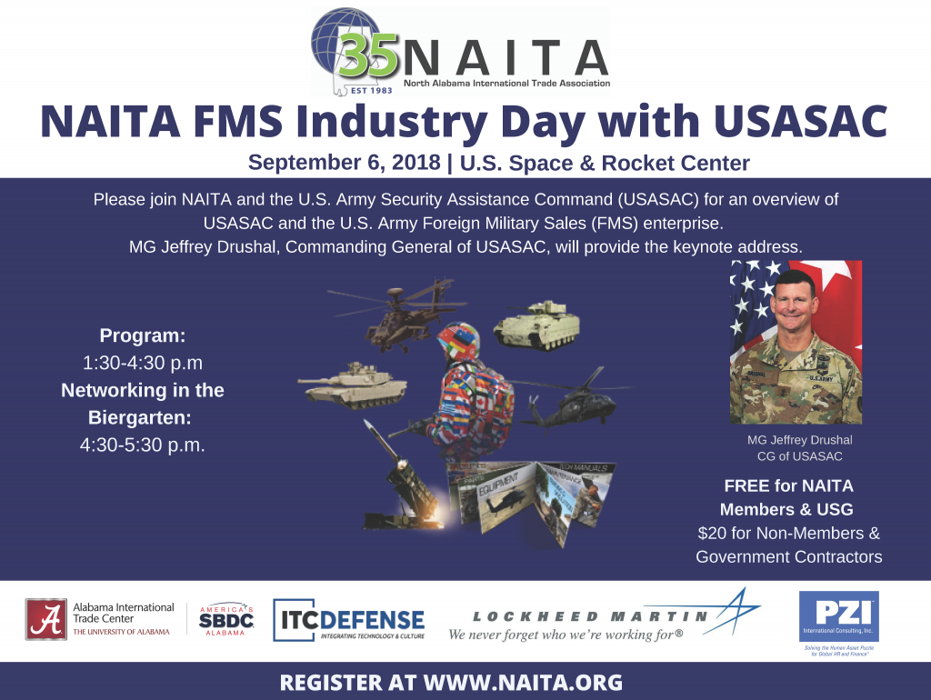 NAITA FMS Industry Day @ U.S. Space & Rocket Center