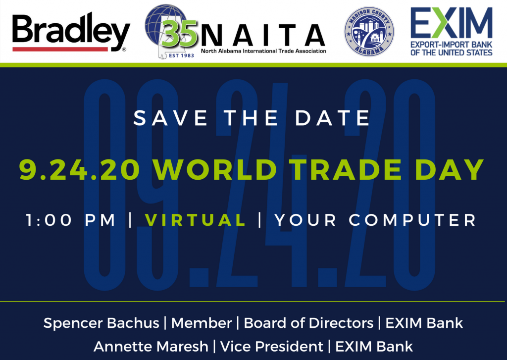 NAITA 37th Annual VIRTUAL World Trade Day Celebration