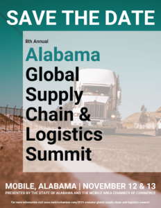 8th Annual Alabama Global Supply Chain & Logistics Summit @ The Battle House Renaissance Mobile Hotel & Spa