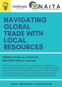 Export Roundtable | Navigating Global Trade with Local Resources @ BizTech