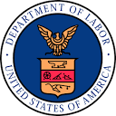 US Dept of Labor logo