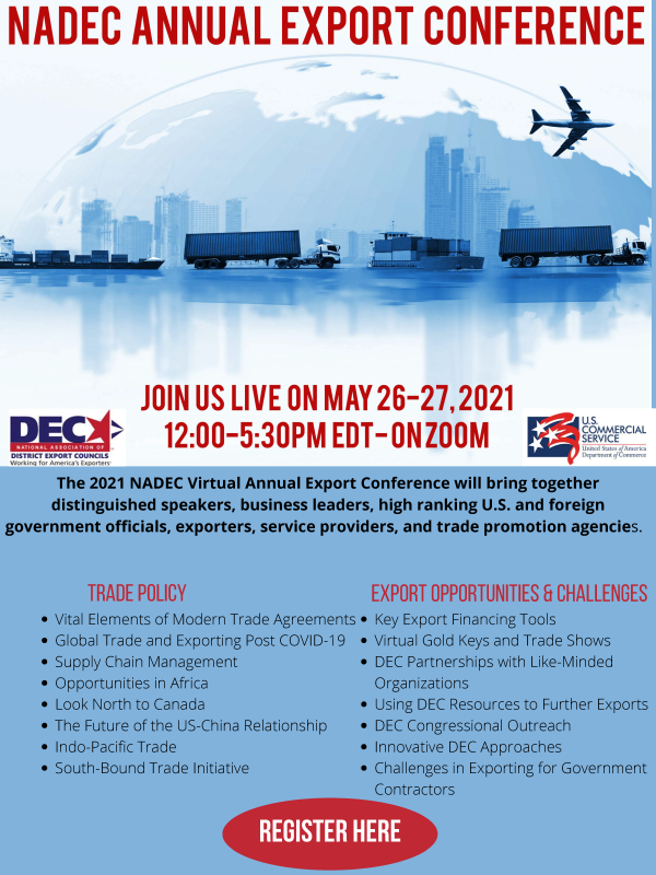 2021 NADEC Virtual Annual Export Conference